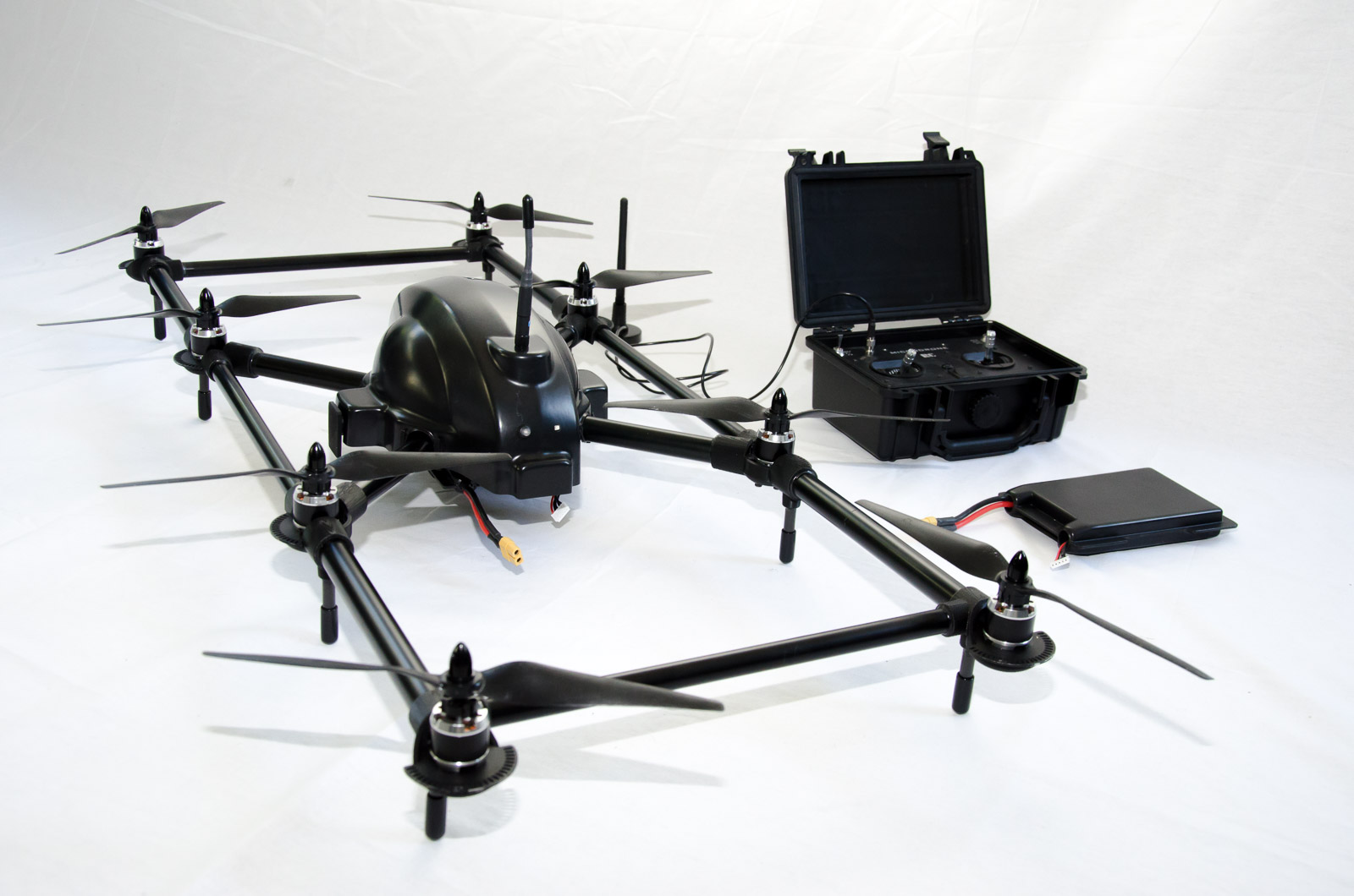 Prototype Custom Octocopter Dronetrade